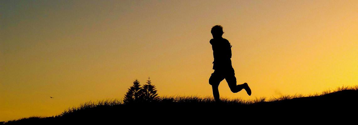 Running while orienteering